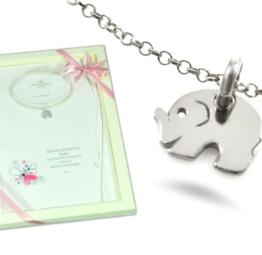 Prezent na szczęście słonik dla dziewczyny i córki