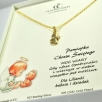 d Necklace kid angel gold