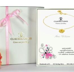 biżuteria na prezent bransoletka z kotkiem
