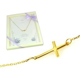 Krzyżyk na prezent dla córki mamy żony babci celebrytka