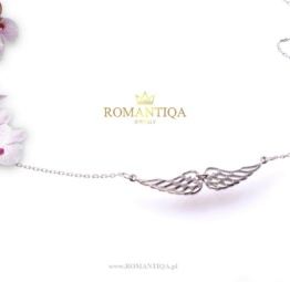 Biżuteria na prezent naszyjnik z życzeniami