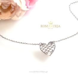 Biżuteria z serduszkiem na prezent