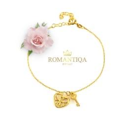 prezent na urodziny dla dziewczyny bransoletka z sercem