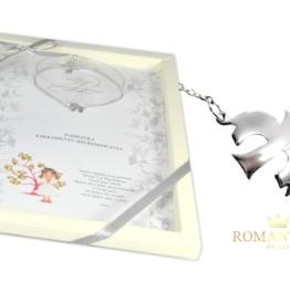 bfd2f8face Prezent bransoletka na Bierzmowanie Gołąbek na prezent na Bierzmowanie